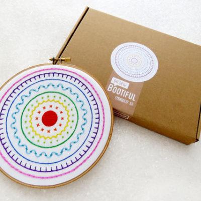 Rainbow Sampler Embroidery Kit