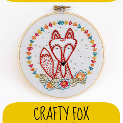 Crafty Fox Iron-On