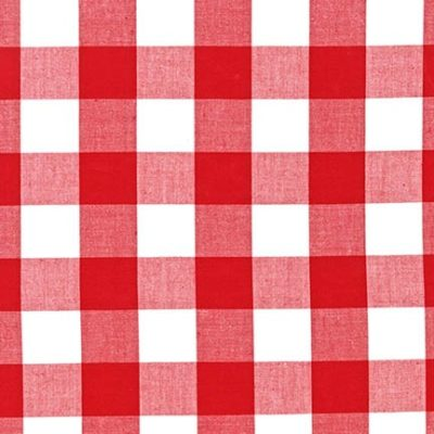Carolina Gingham (Red)