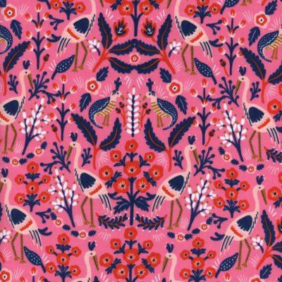 Les Fleurs – Tapestry (Rose)
