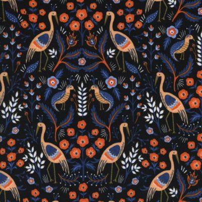 Les Fleurs – Tapestry (Black)