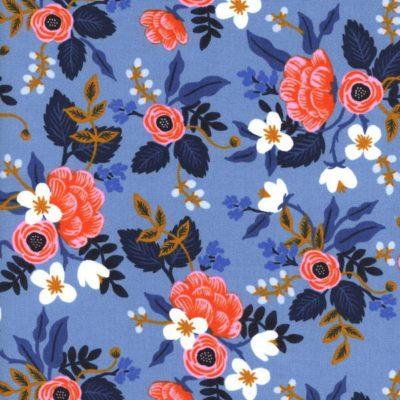 Les Fleurs – Birch (Periwinkle)