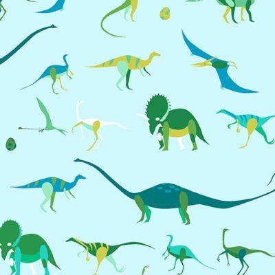 Natural History – Dino Exhibit (Aqua)