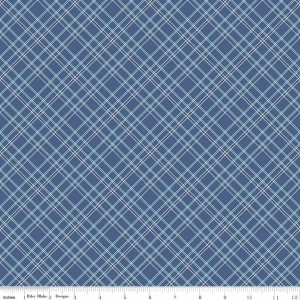 Plaid Blue - wide